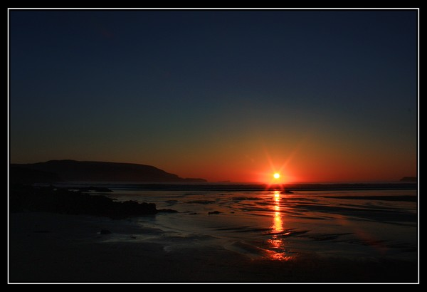 Balnakiel Beach Sunset