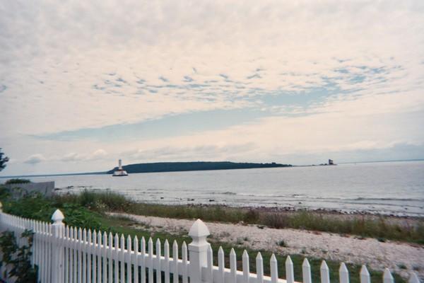 Island Of Michigan Waters
