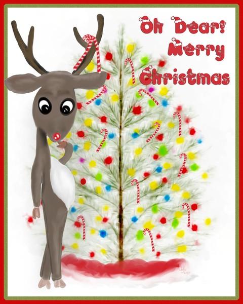 Oh Dear Merry Christmas