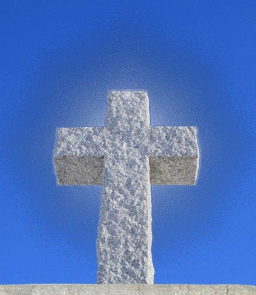 Cross Made of Stone  2