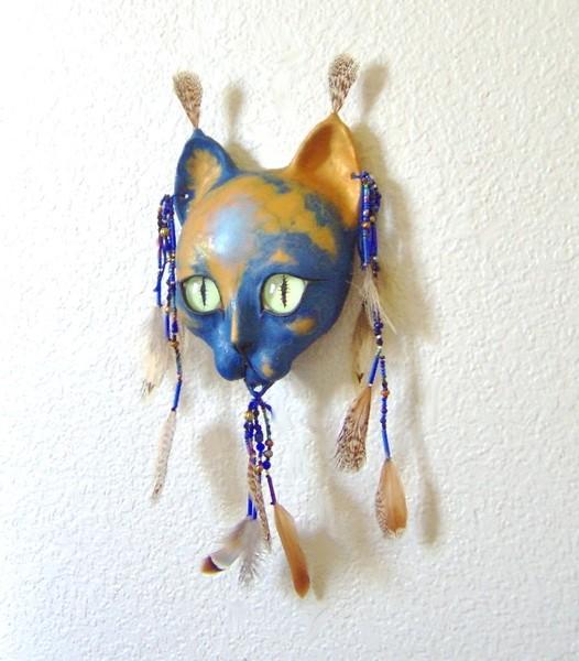 Blue Spirit Cat
