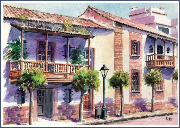 More Canarian balconies