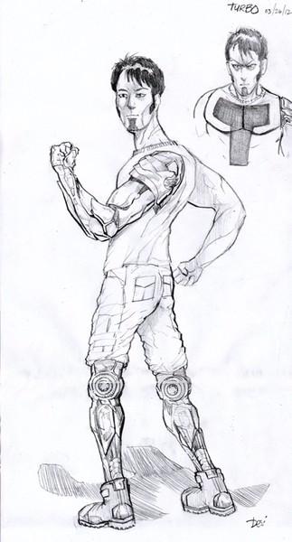 concept art male figure