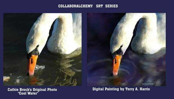 Cool Water: Collaboralchemy Art Series