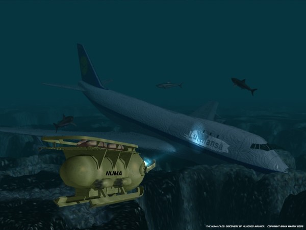 THE NUMA FILES: DISCOVERY OF HIJACKED AIRLINER
