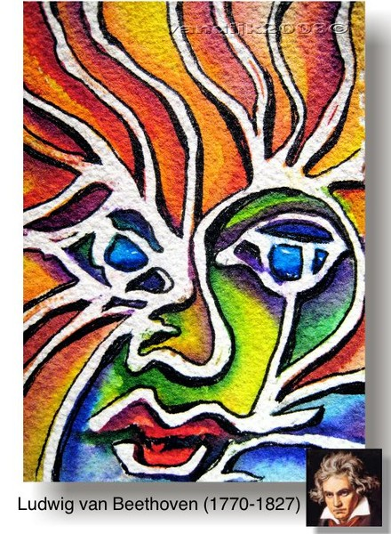 BEETHOVEN© (ACEO)