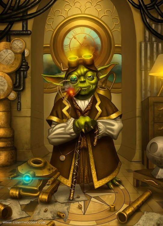 Yoda Meets Steampunk