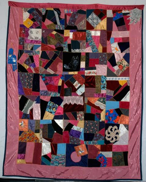 My First Crazy Quilt