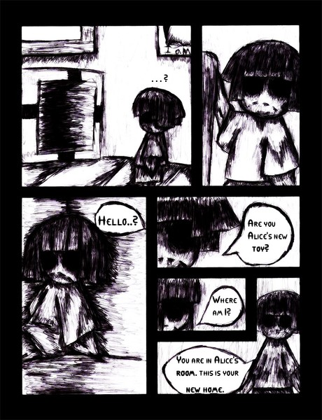 Miss Dollie Comic Page 1