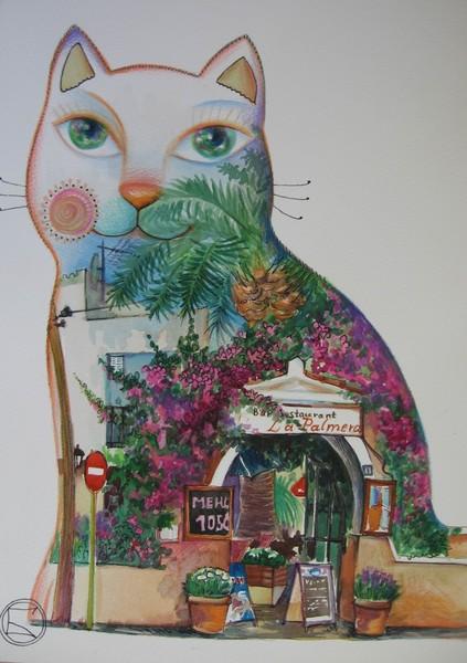 Cat of Cambrils /Spain