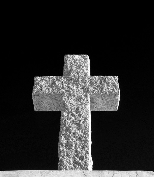 Cross Made of Stone 3