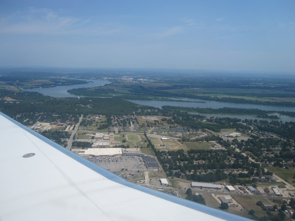 Arkansas River from Air