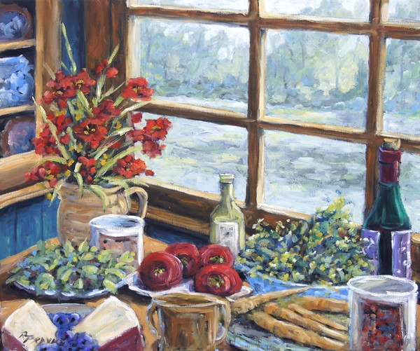 Spice Table Original oil Painting _Sold