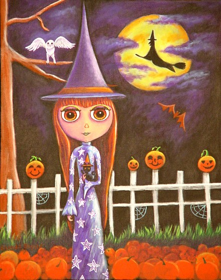 Halloween Blythe (first in the series)