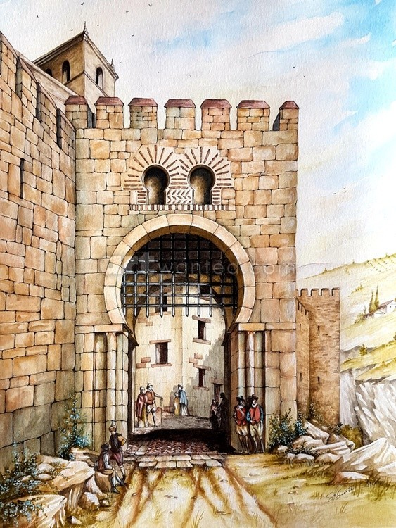 Puerta de Malaga c16th century
