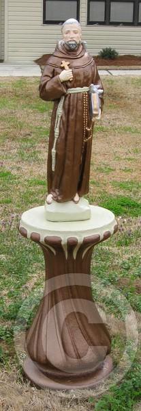 st frances statue