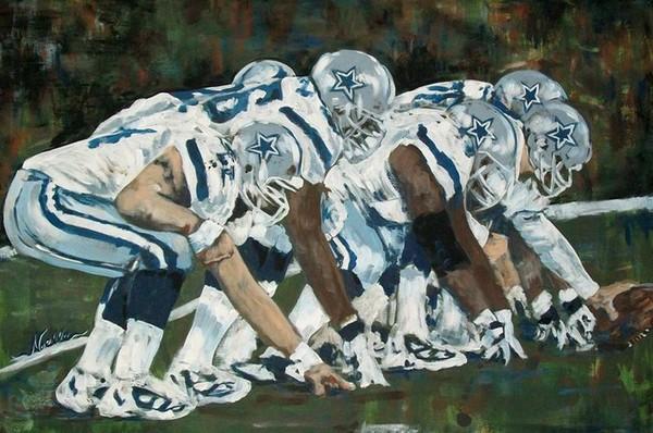 Dallas Cowboys Football Lineup