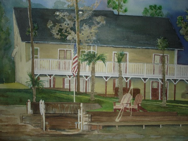 Residence Painting:  Southern Winter Solace