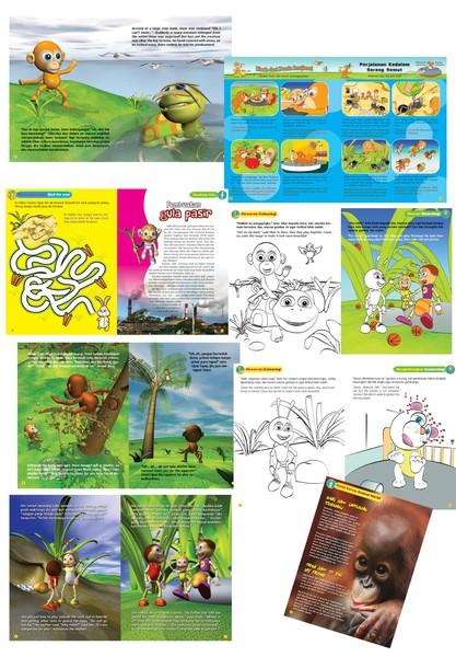 children magazine pages