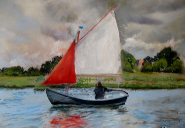 Sailing on the Colne