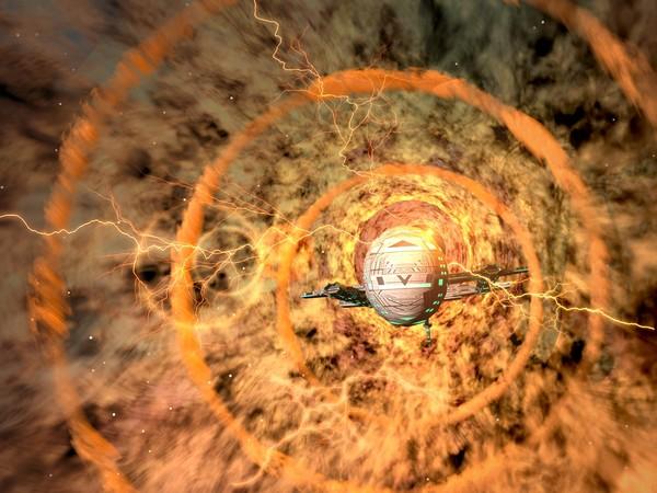 EART ANGEL: entering the wormhole