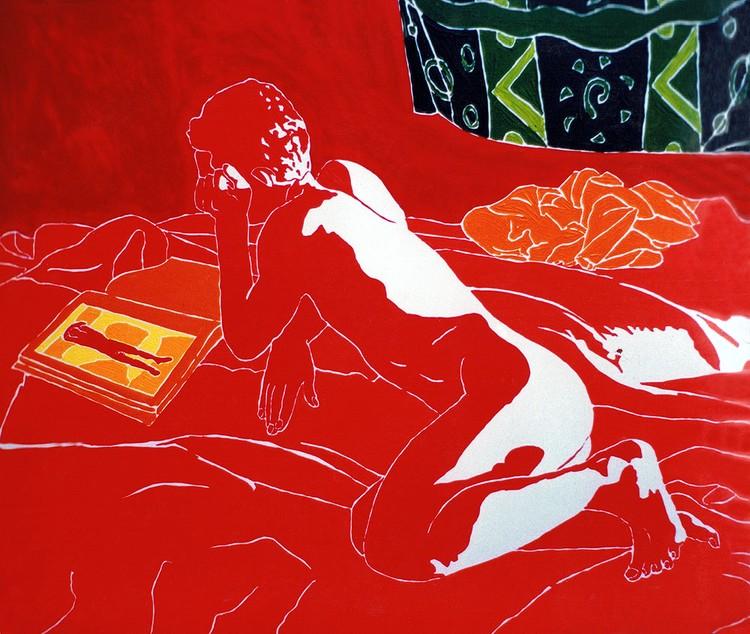 erotic male nude painting gay art homosexual paintings queer lgbt artist raphael perez
