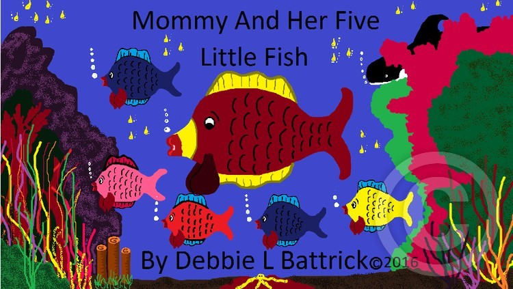 Mommy and her five little fish