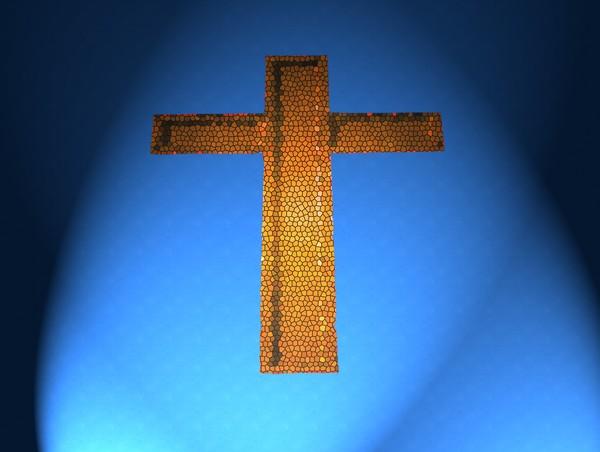Cross on Wall 1