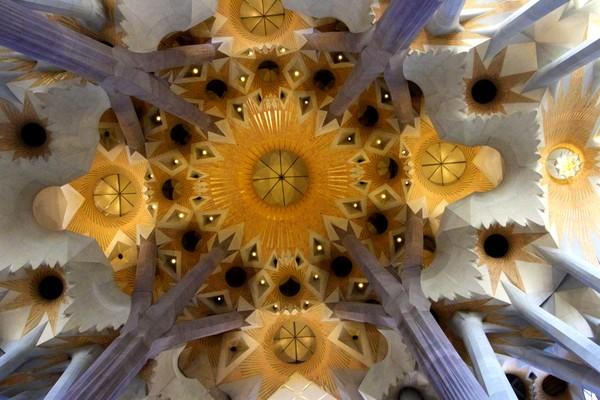 Sagrada Familia Ceiling - Original-0914