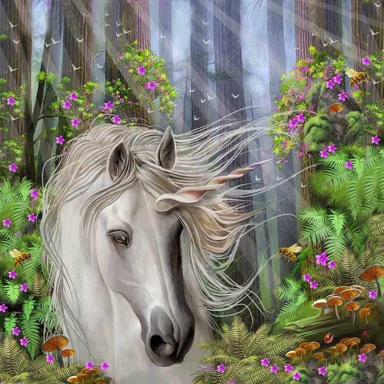 The FOREST UNICORN