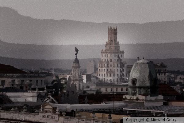 Sunrise over Havana, Cuba