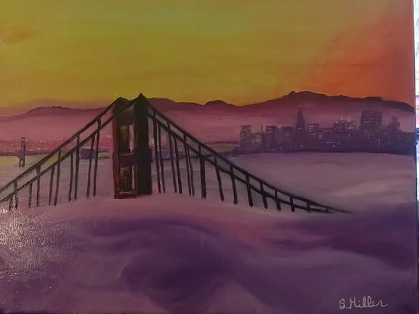 San Francisco in oil