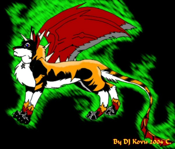 Dragonred Complet in upgrate