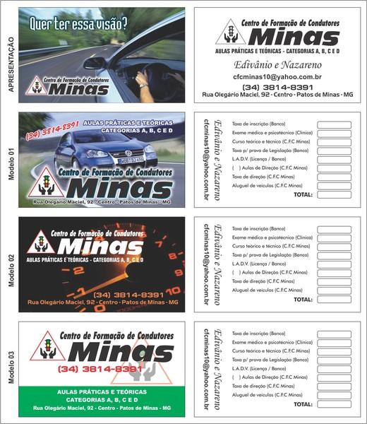 Cartão CFC Minas