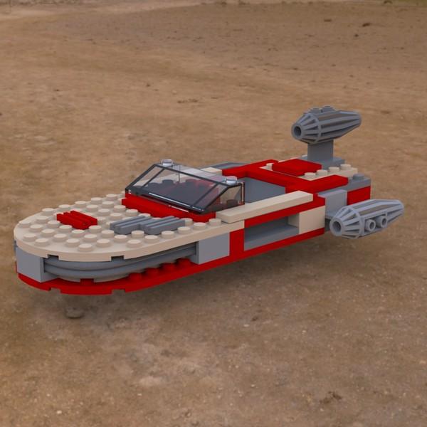 LEGO Landspeeder On the Ground