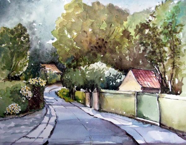 Walking in Mullem (Small Flemish Village)