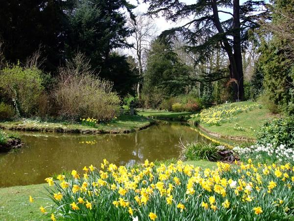 swiss cottage garden