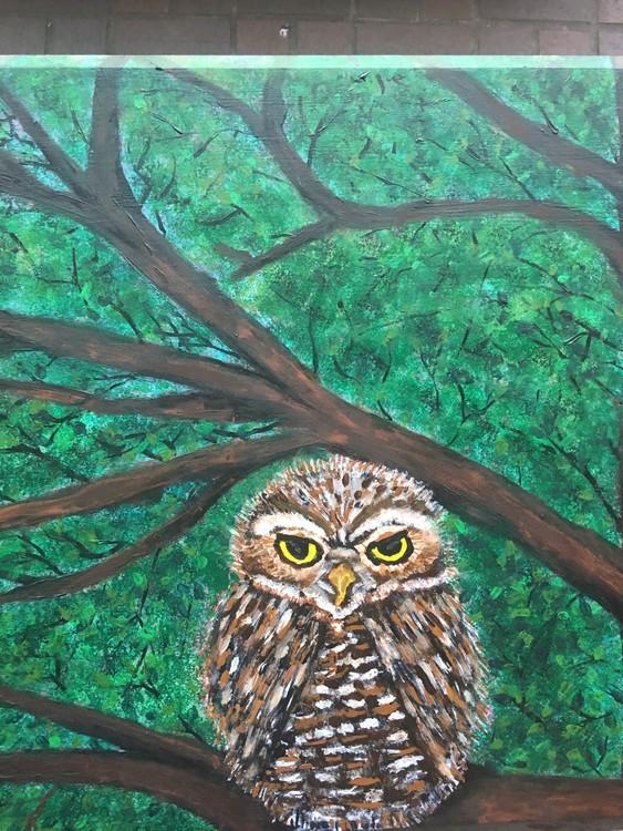 Owl Wisdom Table