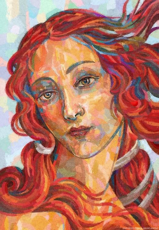 woman portrait venus goddess of love and beauty renaissance