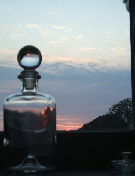 the sunsetTrap in the bottle