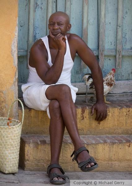Rooster Man, Trinidad, Cuba