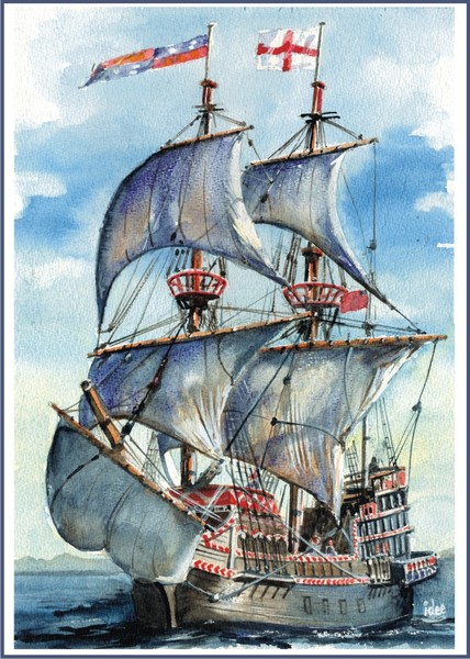 The « Golden Hind »