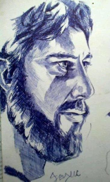 biro bearded