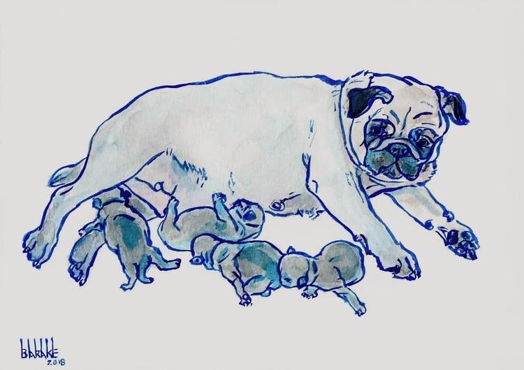BLUE PUG MATERNITY