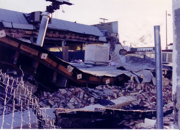Earth Quake Shopping Center