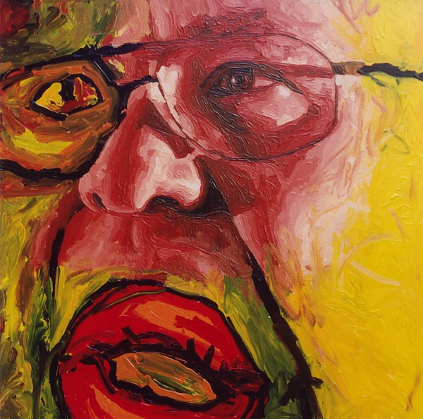 expressive man portrait painting male portraits paintings realism  artist painter raphael perez