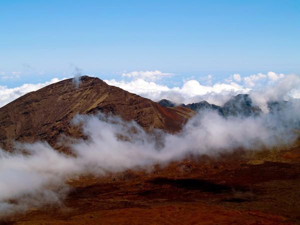Lying Dormant in the Clouds I- Haleakala