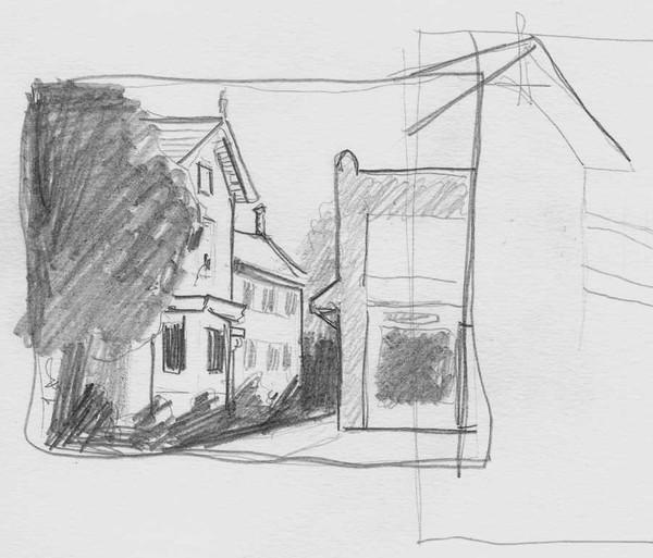 Chesapeake City Sketch