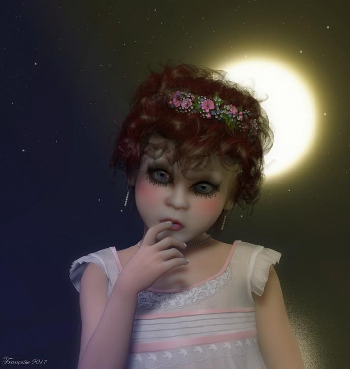 Pensive Doll