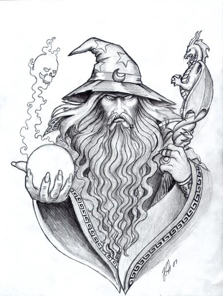Wizard in Hat